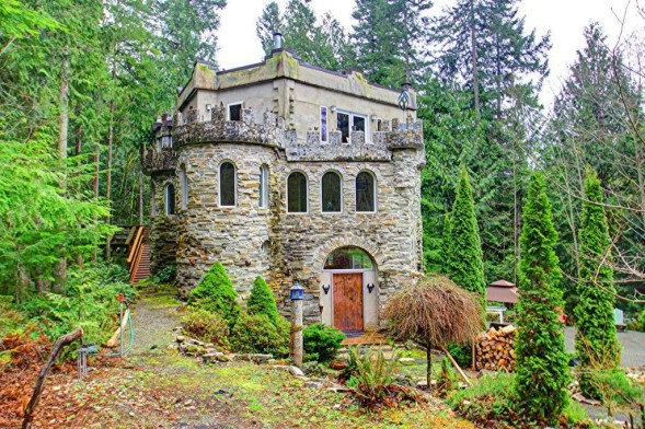 Zillow S House Of The Week Pacific Northwest Castle In